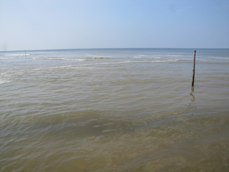 Meeting Place of Godavari with Bay of Bengal