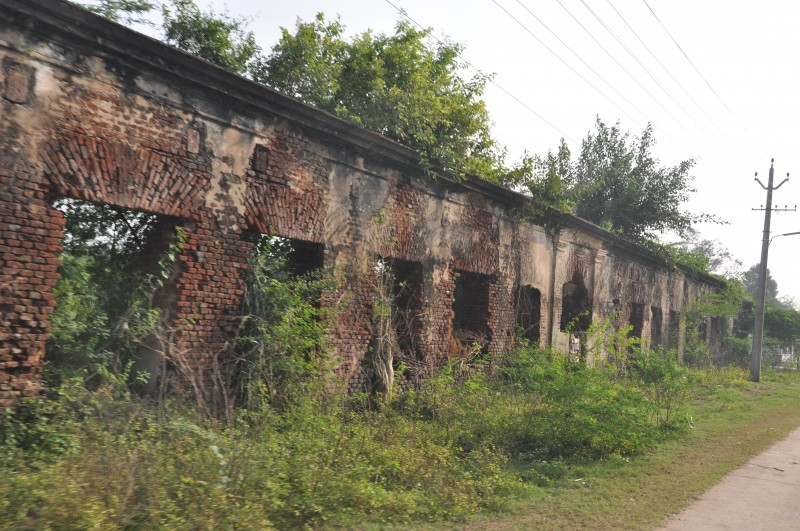 Remains of Nizam Hospital, Machilipatnam