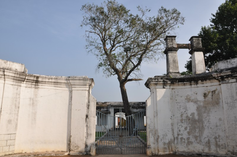 Bandar Fort entrance, Machilipatnam
