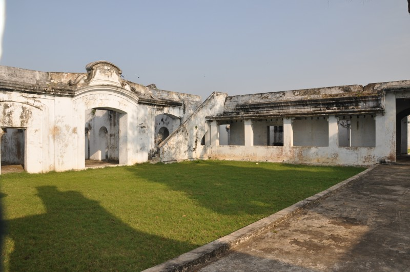 Inside of Bandar Fort, machilipatnam