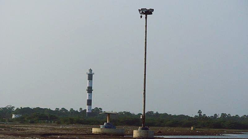 Machilipatnam beach Light house