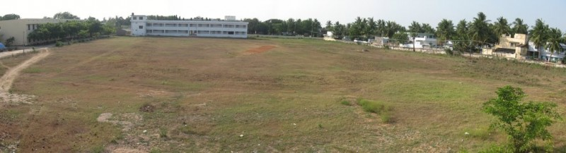 School ground panorama, machilipatnam