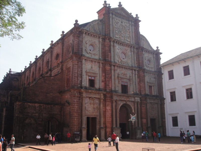 The Basilica of Bom Jesus, Goa