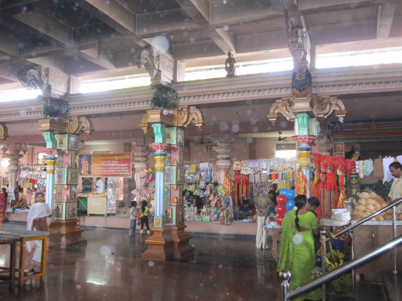 Inside of Mopidevi Temple