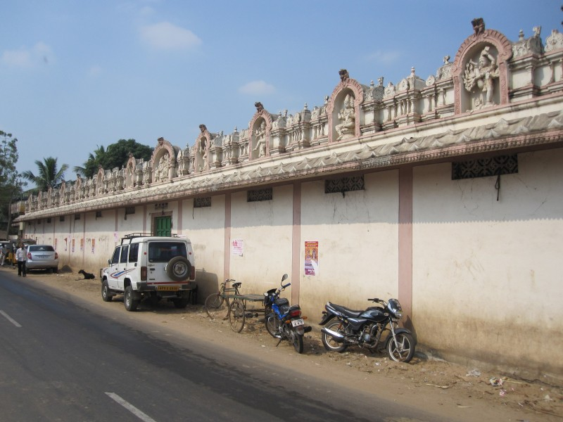 Outer Wall of Mopidevi temple