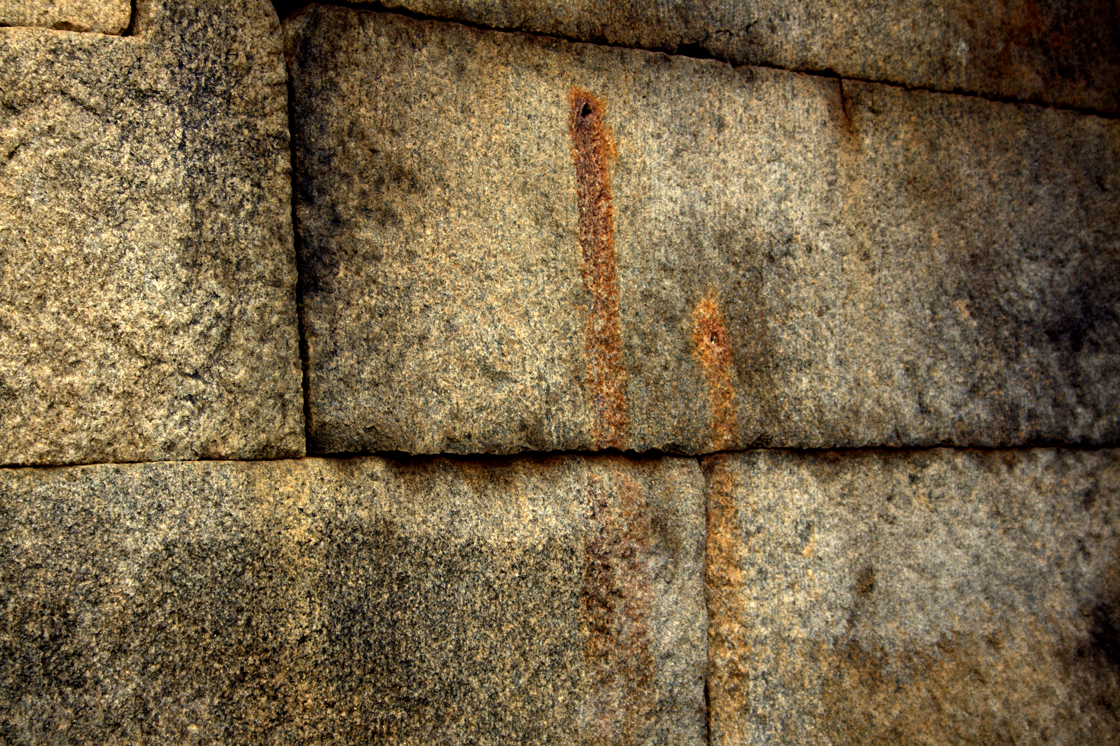 Blood marks of builder of this lepakshi temple