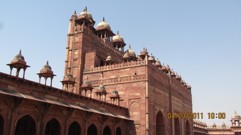 Buland Gate from Inside ..Great Architecture