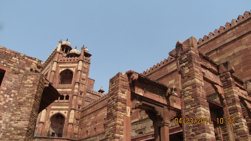 Grand Structures at Fatehpur Sikri
