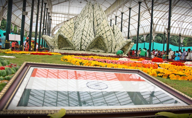 Lalbagh flower show 2011
