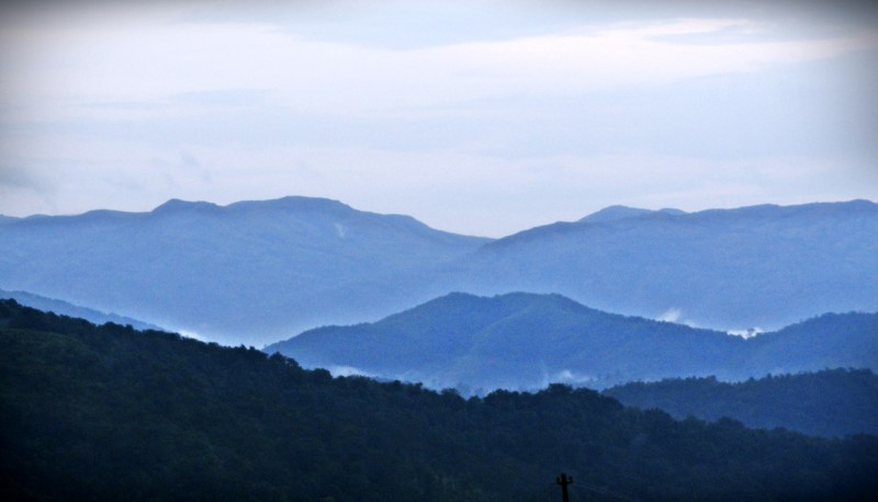 evening at kudremukh