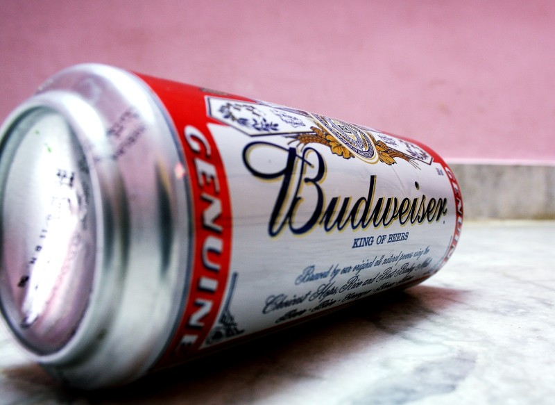 Budweiswer beer