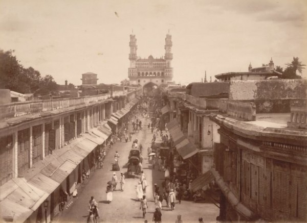 SHOPPING COMPLEXES AT CHARMINAR.