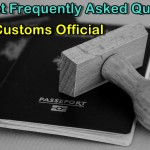 Questoins From Customs Official