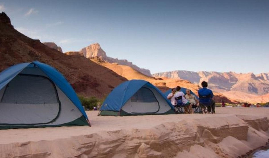 The Grand Canyon camping